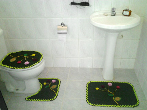 Jogo de banheiro 2.