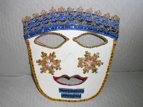 Modelo 2 de máscara