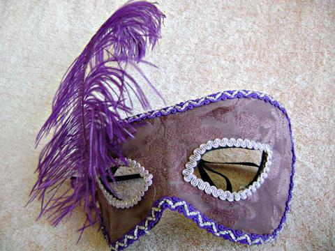Inspiração para máscara veneziana 1