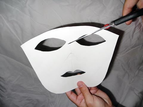 Passo a passo máscara 1.1