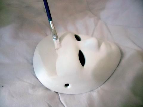 Passo a passo máscara 1