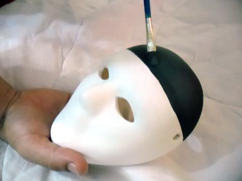 Passo a passo máscara 2