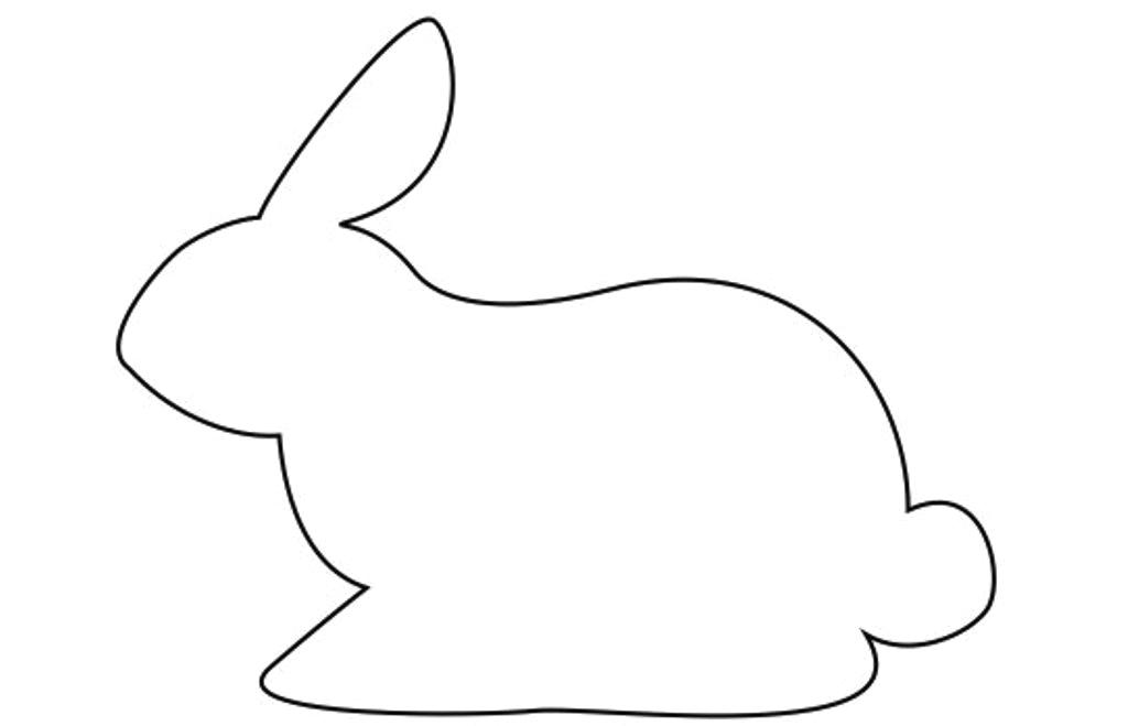 Molde para coelho da Páscoa