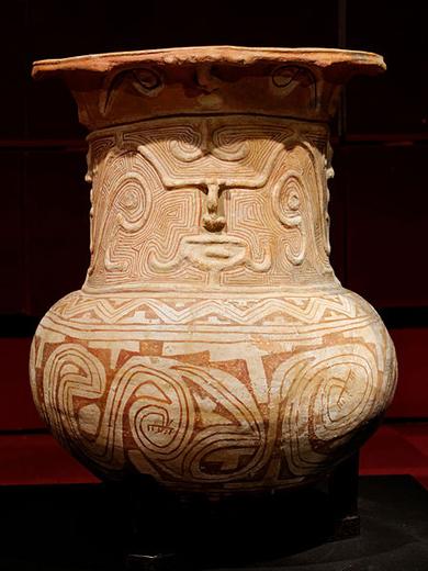 Urna funerária em cerâmica marajoara