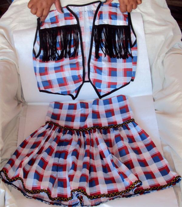 Aprenda como fazer uma roupa para festa junina – HAK – Blog de ... e30f96e4320
