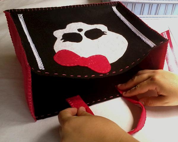 Bolsa De Ombro Monster High : Bolsa monster high hak de artesanato