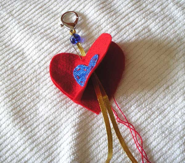 Dia Dos Namorados Aprenda Como Fazer Um Chaveiro De Coração Hak