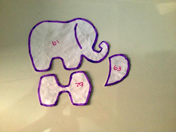 Aparador Feito De Paletes ~ Como fazer um elefantinho indiano em feltro e com Hak u2013 HAK u2013 Blog de Artesanato