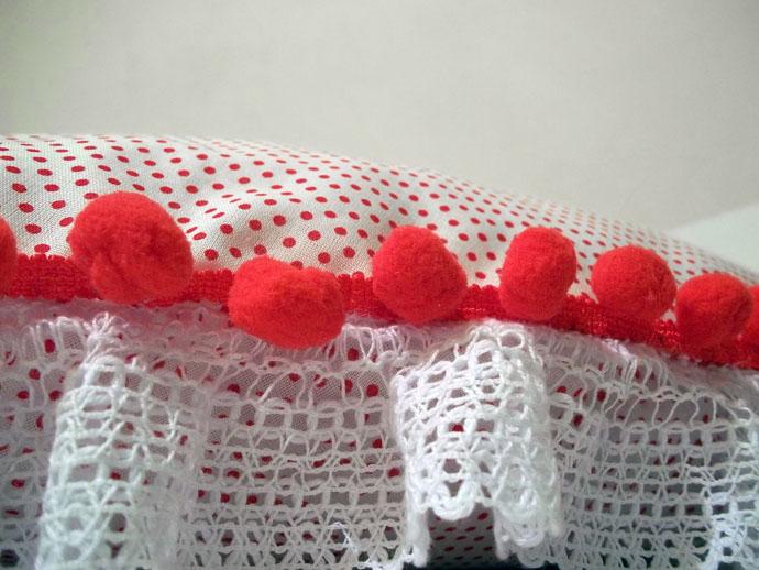 Almofada para o Dia dos Namorados confeccionada com produtos HAK Aviamentos - Passo 4