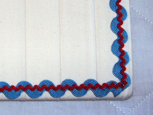 insira a sianinha mais grossa (Sianinhas HAK 43/10 azul)