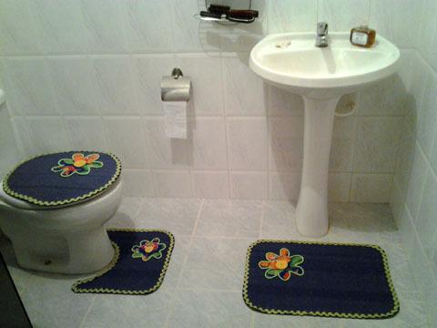 Jogo de banheiro 1.