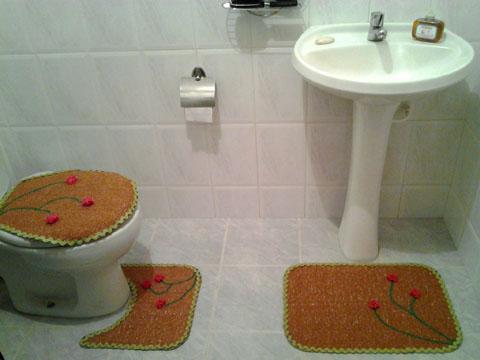Outra visualização do seu KIT de banheiro.